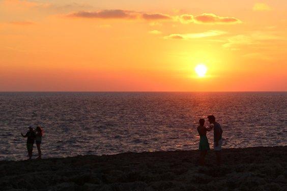 Sonneuntergang bei Cap d'Artrutx